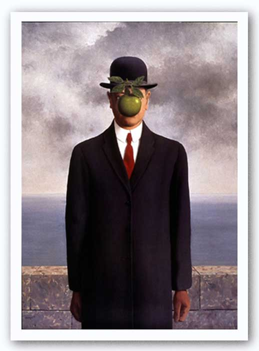 Rene Magritte Son Of Man | www.imgkid.com - The Image Kid ...